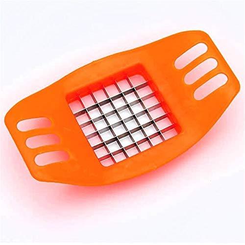 El mejor ayudante en la cocina Francés Fry cortador Chopper chips de patata que hace la herramienta de corte Gadgets de cocina vegetal cortador de patatas máquina de cortar