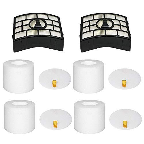 Eztronics Corp@2 HEPA + 4 Foam Filters for Shark Rotator APEX DuoClean...