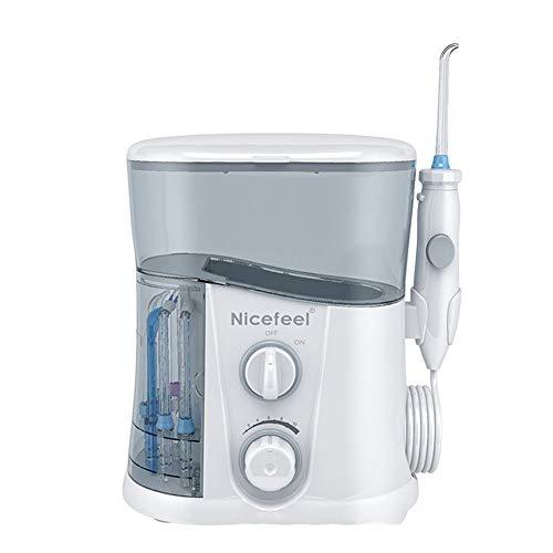 Dispositivo Elettrico Per La Pulizia Dei Denti Rossi Domestici 1000 Ml Di Grande Serbatoio D'acqua Funzione Di Disinfezione UV Impulso Ad Alta Pressione IPX7 Colore Blu E Bianco Impermeabile (grigio)