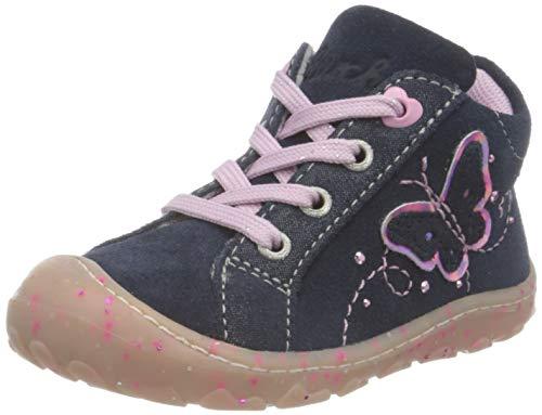 Lurchi Girly, Zapatos para bebé Niñas, Azul Marino, 19 EU