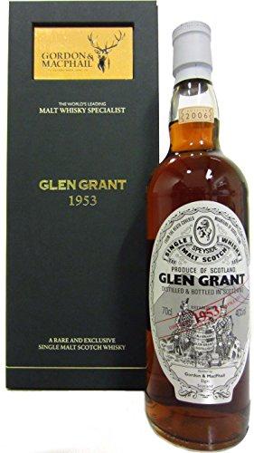 Glen Grant - Speyside Single Malt - 1953 52 year old Whisky
