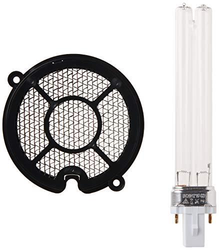 Guardian Technologies GermGuardian EV9LBL EV9LBL UV-C GENUINE Replacement Bulb and TiO2 Disc for UV-C Air Sanitizer, White