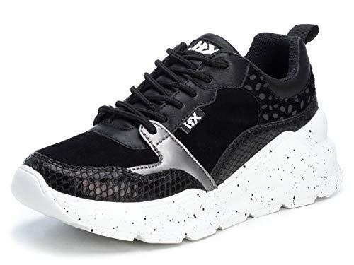XTI 49592, Zapatillas Mujer, Negro, 40 EU