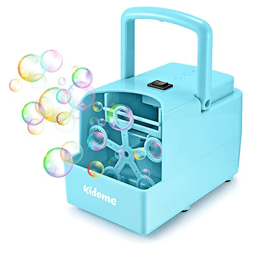 KidoMe Máquina de Burbujas Portátil,...