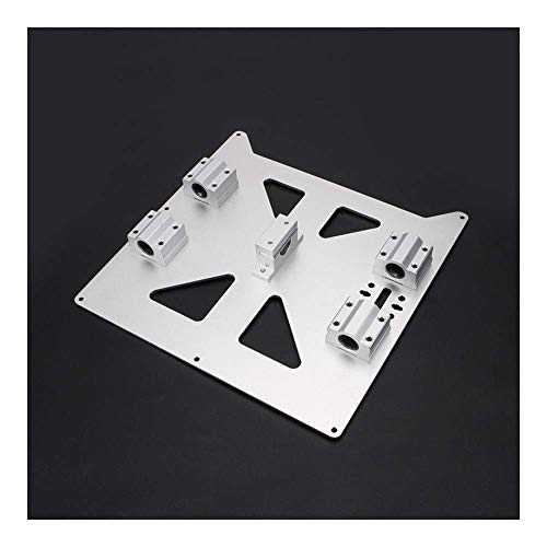 Aluminum Y Carriage Anodized Plate With SC8UU pgrade Prusa i3 V2 Hot Bed Support Plate For Prusa i3 RepRap DIY 3D Printer parts 3D Printer Parts (Size : All kit) (Size : All kit)