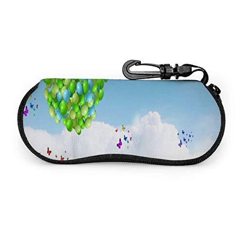IUBBKI Glasses Case Citrus Fruits Fantastic Soft Sunglasses Eyeglasses Case Bag for Men Women Travel