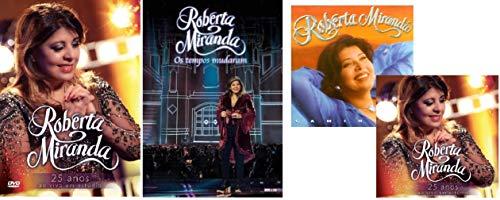 DVD Roberta Miranda - Kit 2 DVDs + 2 CDs