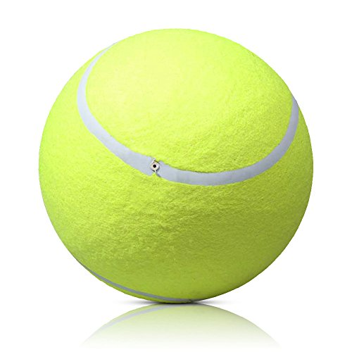 Youlin - Pelota de tenis gigante para perros, 24 cm, para animales...