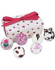 Bomb Cosmetics Little Box of Love Ballotin, Presentset, 1-pack (1 x 6 stycken)
