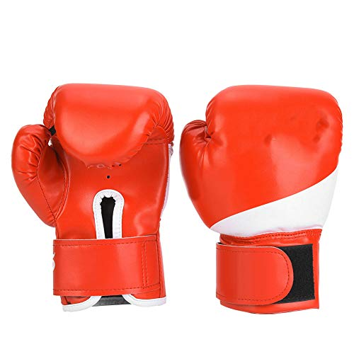 Ponacat Sport Boxhandschuhe für Kinder Kinder Jugend Training Boxsack Kickboxen Muay Thai Handschuhe MMA Training Sparring Handschuhe