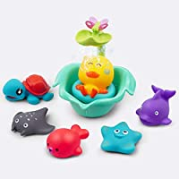 Gizmovine Baby loating Squirts Animal Bathtub Toys