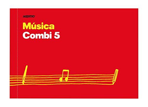 Additio Combi 5 – Cuaderno de música, surtido: colores aleatorios