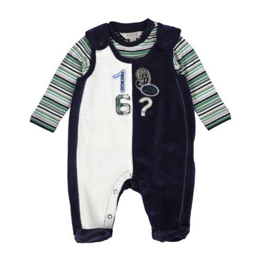 Kanz Baby-Jungen T-Shirt 1/1 Arm Strampler, Mehrfarbig (3008), 50