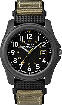 Timex Men s T42571 Expedition Camper Gray Nylon Strap Watch