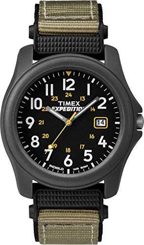 Timex Men's T42571 Expedition Camper Gray Nylon Strap Watch