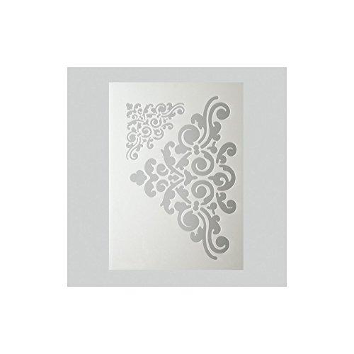 efco Ornaments Schablone in 2Designs, Kunststoff, transparent, A5