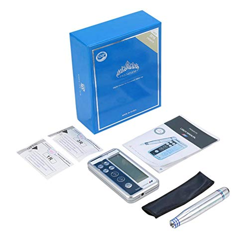 Pluma de tatuaje con conjunto de bolsa, kit de máquina de tatuaje de delineador de ojos digital para cejas Herramienta de accesorios de maquillaje permanente