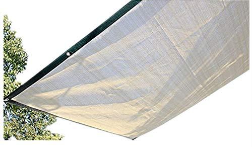 Mitef ombrage de 75% Taux Chiffrer balcon isolant de la chaleur solaire jardinage Abat-jour Net Jaune 4x5m jaune