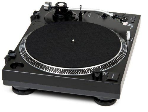 Dual DTJ Tourne-Disque DJ USB, système de tête magnétique, Aiguille Pitch (33/45Tours/Min,...