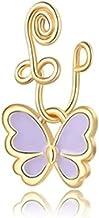 VEILTRON Afrikaanse neusmanchet vlinder nep neusring niet piercing clip op neusringen voor vrouwen meisjes zwart/roze/paar...