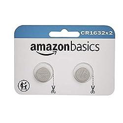 top 10 cr1632 batteries AmazonBasics CR1632 Lithium Coin Batteries – 2 pcs, package may vary