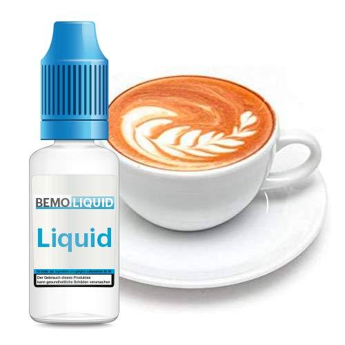 ORIGINAL BEMO LIQUID - Bestes deutsches eLiquid - Riesige Auswahl für Deine e-Zigarette (Cappuccino)