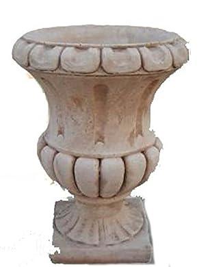 Foto di Ciotola Vaso da Giardino Vaso in Cemento Vaso Asplendor Grande - H cm 56x43