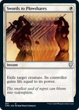 Magic: The Gathering - Swords to Plowshares - Theme Deck Exclusive - Commander Legends