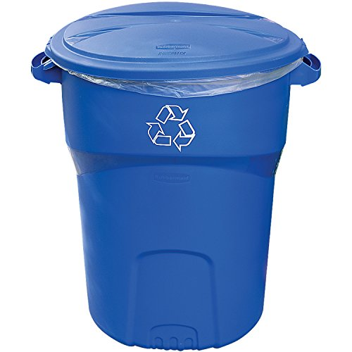 Rubbermaid Refuse Roughneck Recycle, 32 Gallons