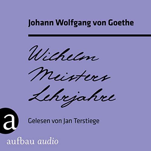 Wilhelm Meisters Lehrjahre cover art