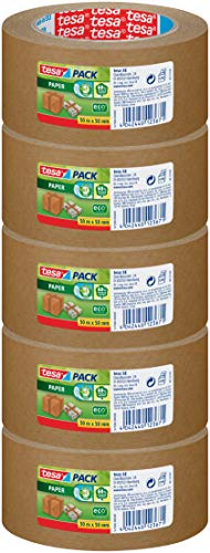 Tesa Crystal Clear Packing Tape 3 Rolls 66 m x 50 mm Crystal Clear