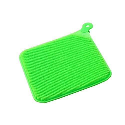 Sulifor Kreative Silikonreinigungsbürste, Reinigungsschüsselbürsten-Küchenwerkzeuge der Silikonschüsselschüssel scheuernauflage