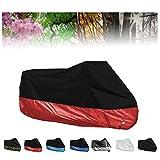 Fundas para motos Compatible con la cubierta de motocicleta Ducati Multistrada 950, All Season impermeable protector solar al aire libre Antifouling 190T interior de la cubierta de la motocicleta, 7co