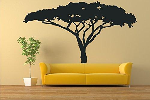 Dalinda XXL Wandtattoo afrikanischer Baum Nr. L395 extra groß Wandsticker Wandaufkleber Wanddeko