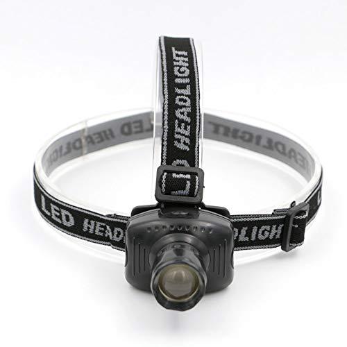 letaowl Linterna frontal de 600 lúmenes, 3 modos de luz LED linterna linterna linterna para acampar al aire libre Caza Pesca