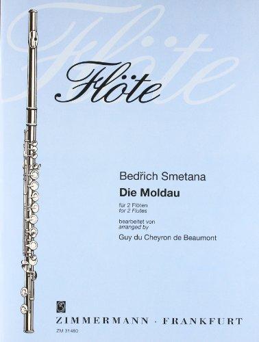 Die Moldau: 4 Flöten. Partitur und Stimmen.