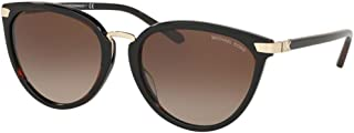 Michael Kors MK2103 378113 Brown Tortoise Claremont Cats Eyes Sunglasses Lens C