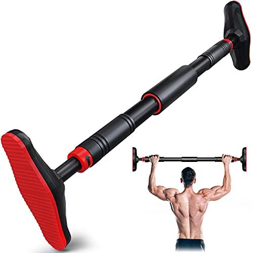 Barra per Trazioni, Sbarra per Trazioni da Porta 70-95cm Carico 200kg, per la Parte Superiore del Corpo Esercizio Indoor di Fitness A Casa