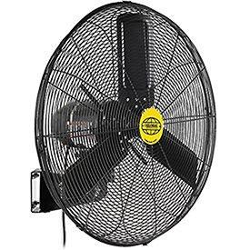 "Outdoor Oscillating Wall Mounted Fan, 24"" Diameter, 3/10hp, 7700cfm"
