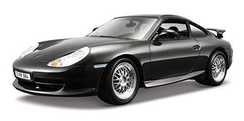 Bburago - 12040ds - Véhicule Miniature - Modèle À L'échelle - Bburago - Porsche 911 / 996 Gt3 - 1997 - Echelle 1/18 - Gris foncé
