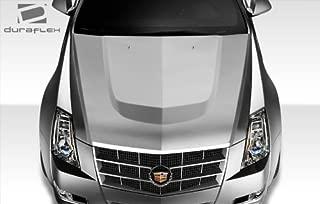 Duraflex ED-TAX-982 CTS-V Look Hood - 1 Piece Body Kit - Fits Cadillac CTS 2008-2013