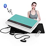 VLOXO Vibration Plate, 3D Exercise Machine Vibration Fitness Platform with Adjustable 99 Levels - Whole Body Workout Trainer for Home Training Weight Loss Toning and Shaping
