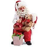 Department 56 Possible Dreams Santa Sports and Leisure Well Care Visit Figurine, 9 Inch, Multicolor