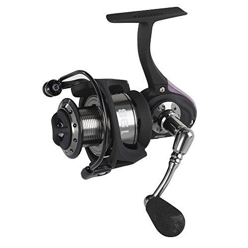 Mitchell 398 - Carrete de Pesca de lanzado, Color Negro