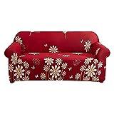 WXQY Funda elástica para sofá en Forma de L para Sala de Estar, Funda Protectora para sofá combinada elástica, Funda Lavable para Muebles A1 1 Plaza