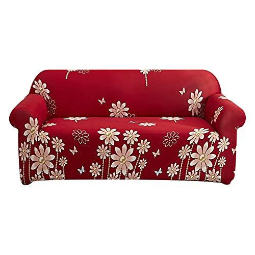 MKQB Funda de sofá elástica elástica, Funda de protección de sofá de Esquina en Forma de L para Sala de Estar, Funda de Muebles Lavable Antideslizante n. ° 1 M (145-185cm
