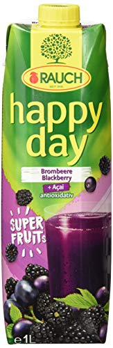 Rauch Happy Day Superfruits (6 x 1 l) Brombeere-Acai