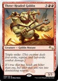 Wizards of the Coast Three-Headed Goblin - Unstable