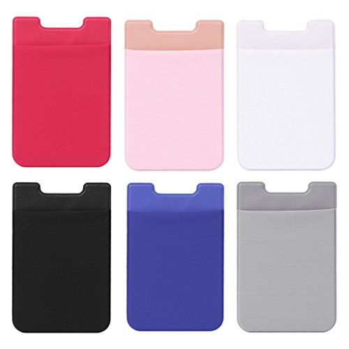 Aufkleber Handyrückseite Karten Brieftasche Kreditkarten Ausweishalter Tasche