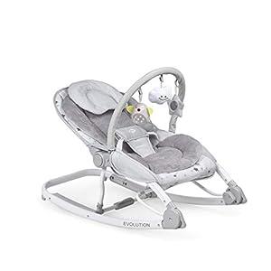 Innovaciones MS 1113 - Hamaca Para Bebé Evolution 2 En 1, Balancín Y Silla, Plegable Y Portátil, Unisex